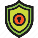antivirus, firewall, insurance, money, protection, secure, shield icon