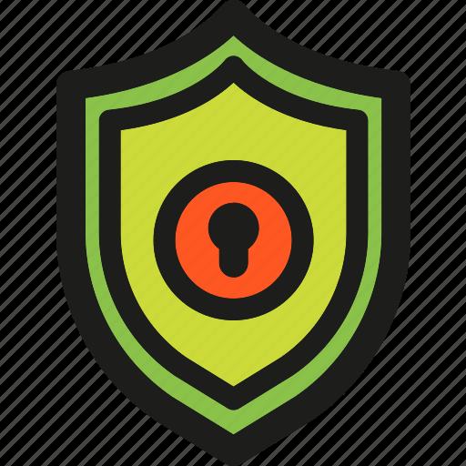 antivirus, firewall, insurance, money, protection, secure, shield icon