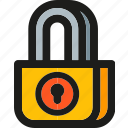 key, lock, locked, password, protect, protection icon