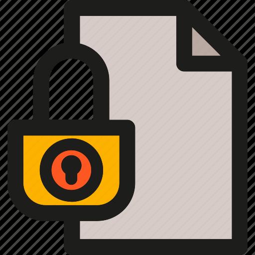data, folder, lock, network, protection, secure, storage icon