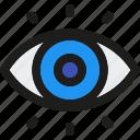 business, design, development, look, visibility, vision, web icon