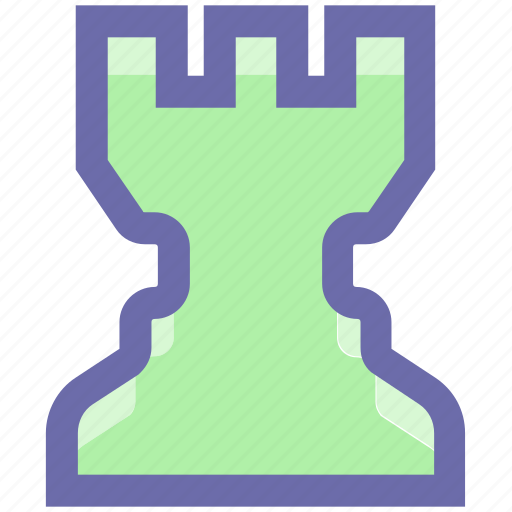 castle, chess, fort, prevention, rook, strategy, tactic, tower icon
