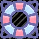 life, help, tube, sos, ocean, ocean tube, guard, security icon