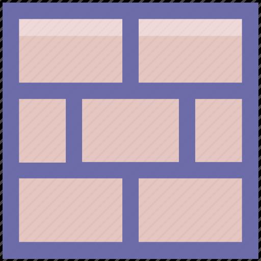 brick, brick wall, bricks, building, firewall, wall icon