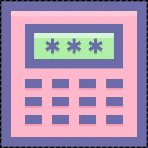 atm, atm code, atm machine, automated teller machine, passcode icon