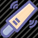 nightstick, truncheon, police baton, stick, baton icon