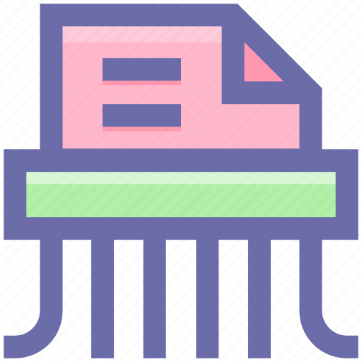 confidential, data destroyed, destroyed, document, file, privacy, secret icon