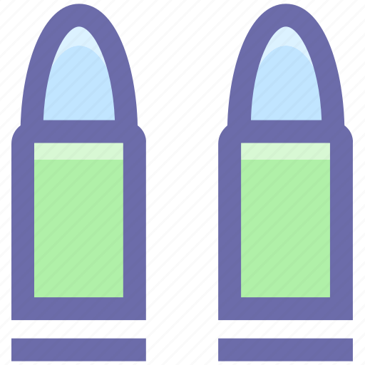 bullet, explosive, police, shell, war icon
