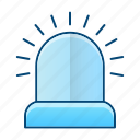 alarm, light, notification, protection icon