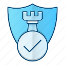 antivirus, defence, protection, shield icon