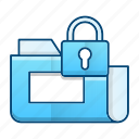 data, files, folder, protection, secure icon