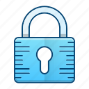 padlock, protection, security, web icon