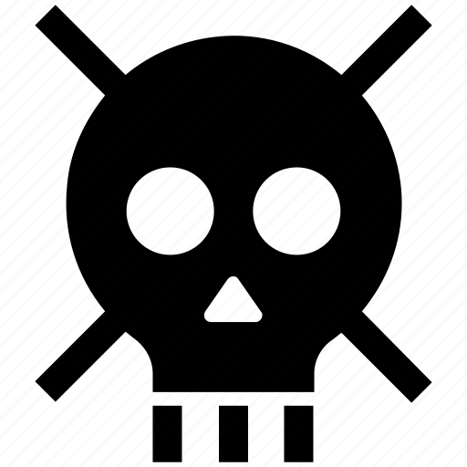 danger, defender, lock, protection, security, skull, wanted icon
