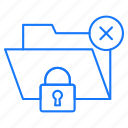 folder, protection, secure, security icon