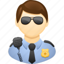 agent, cop, man, police officer, security, security guard icon