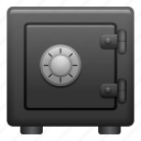 combination lock, safe, safety, security, vault icon