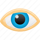 eye, eye sight, inspect, view, vision icon