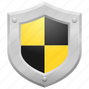 guaranteed, insurance, protected, protection, security, shield icon