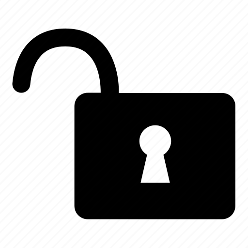 lock, open, padlock, password, security, unlock icon