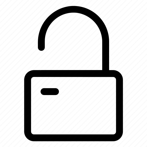 padlock, protection, safety, security, unlock icon