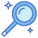 detective, magnification, magnifier, magnifying, search, searching, zoom icon