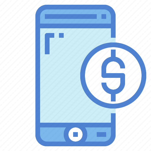 banking, business, currency, mobile, payment, phone, smartphone icon