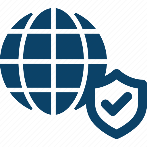 Global, globe, internet, network, protected icon - Download on Iconfinder