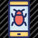 bug, smartphone, spy, trojan, virus