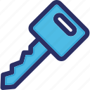 car, key, lock, security, transport icon