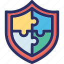 elements, modal, complex, puzzle, protection
