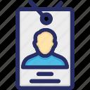 access, account, badge, card, employee