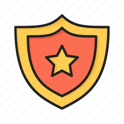 antivirus, control, favorite, safe, sheild, shield, star icon