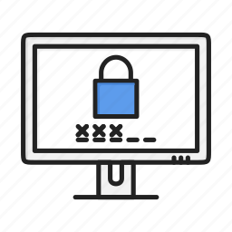 authorization, lock, locked, login, protect, safe, security icon
