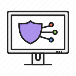 anti, antivirus, control, safe, sheild, shield icon