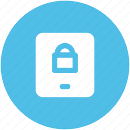data security, defense, locked, mobile access, mobile lock, mobile phone, phone safety icon