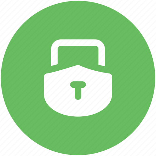 lock, login, padlock, password, privacy, security, shield shape icon