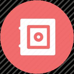 bank safe, bank vault, finance, money box, safe box, secret, storage icon