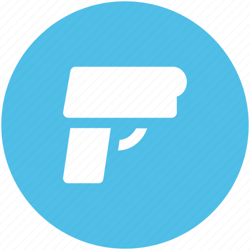 8mm pistol, firearm, glock, gun, handgun, pistol, shooter, weapon icon