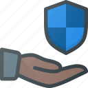 care, hand, protect, protection, security, share, sharing icon