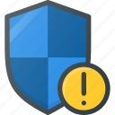 attention, firewall, protect, protection, security, shield icon