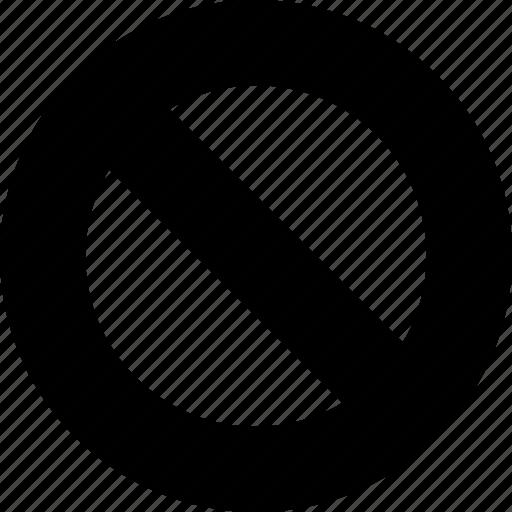 alt, block icon