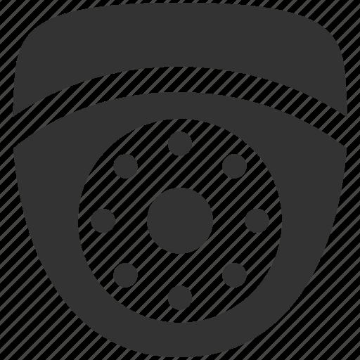 Camera, cctv, dome camera, ip camera, security, wireless camera, private icon - Download on Iconfinder