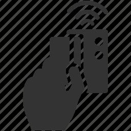 access, key, keycard, lock, security, skimming, unlock icon