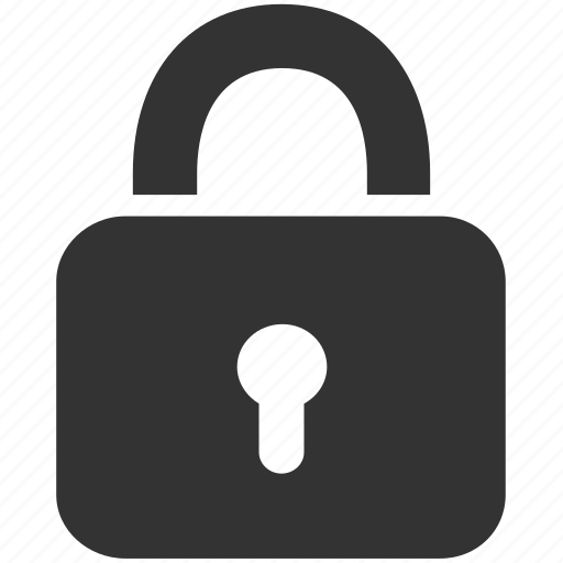 lock, locked, master key, private, protect, safe, secure icon