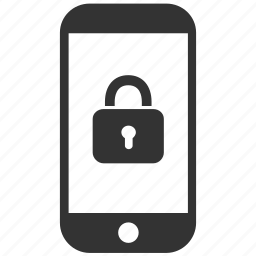 locked, mobile, password, phone, protect, safe, secure icon