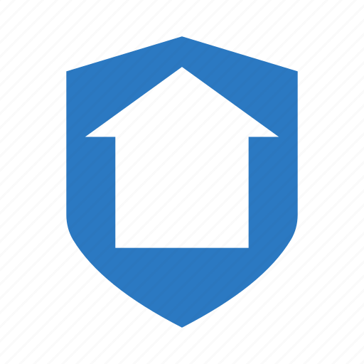 home, house, protection, real, security icon