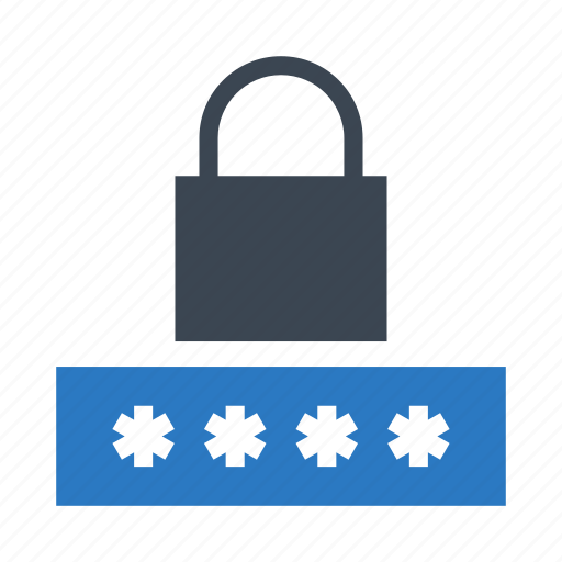 lock, password, protection, safety, security icon