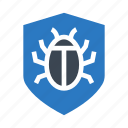 bug, protection, security, shield, virus