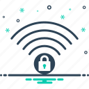 firewall, protection, security, wifi icon