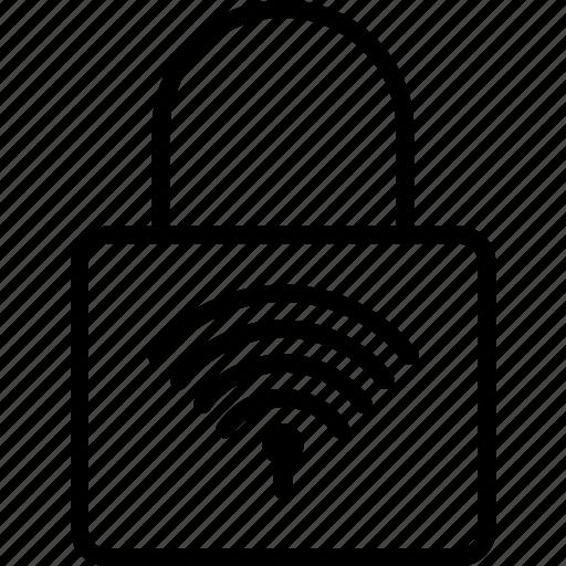 network, secureline, security, vpn, wifi icon